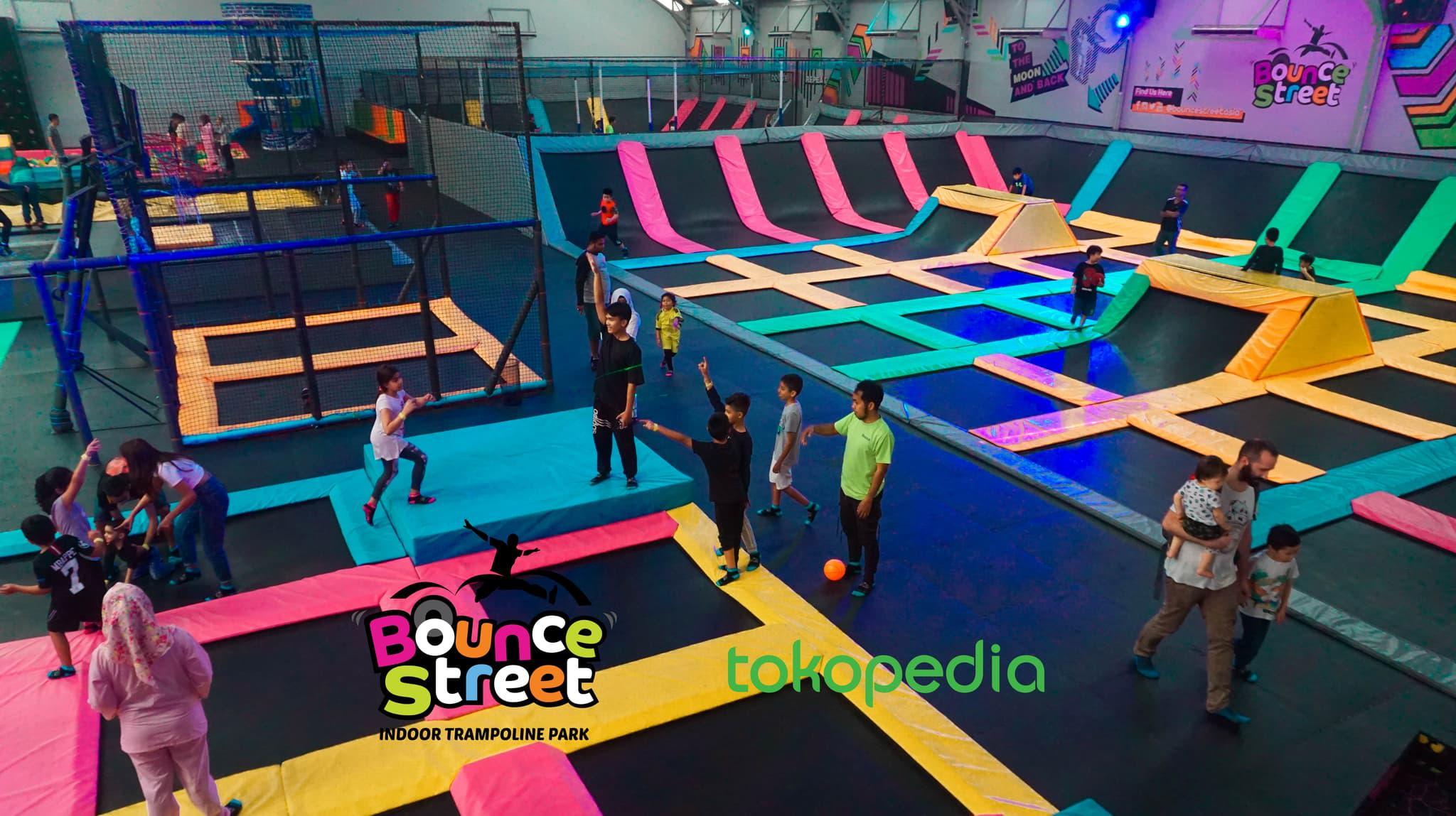 bounce street asia trampoline park jakarta