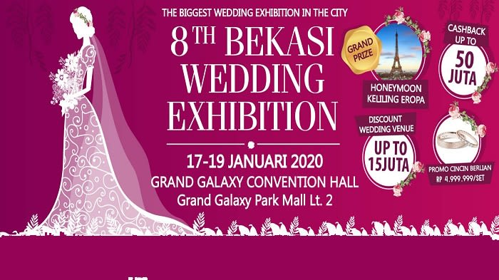 8th BEKASI WEDDING EXHIBITION - Background