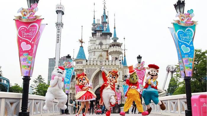 Lotte World 1 Day Pass - Background