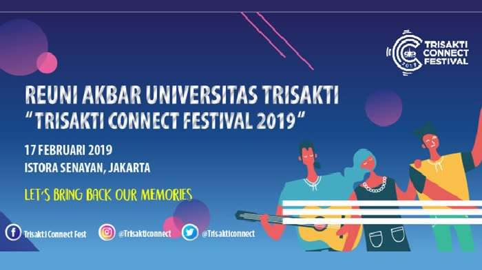 Reuni Akbar Universitas Trisakti - Background
