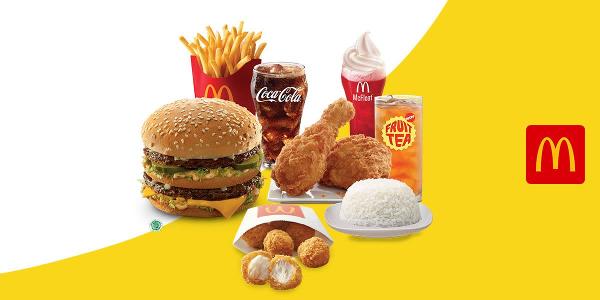Voucher McDonald's Rp 100.000 (Dine in/Drive Through)