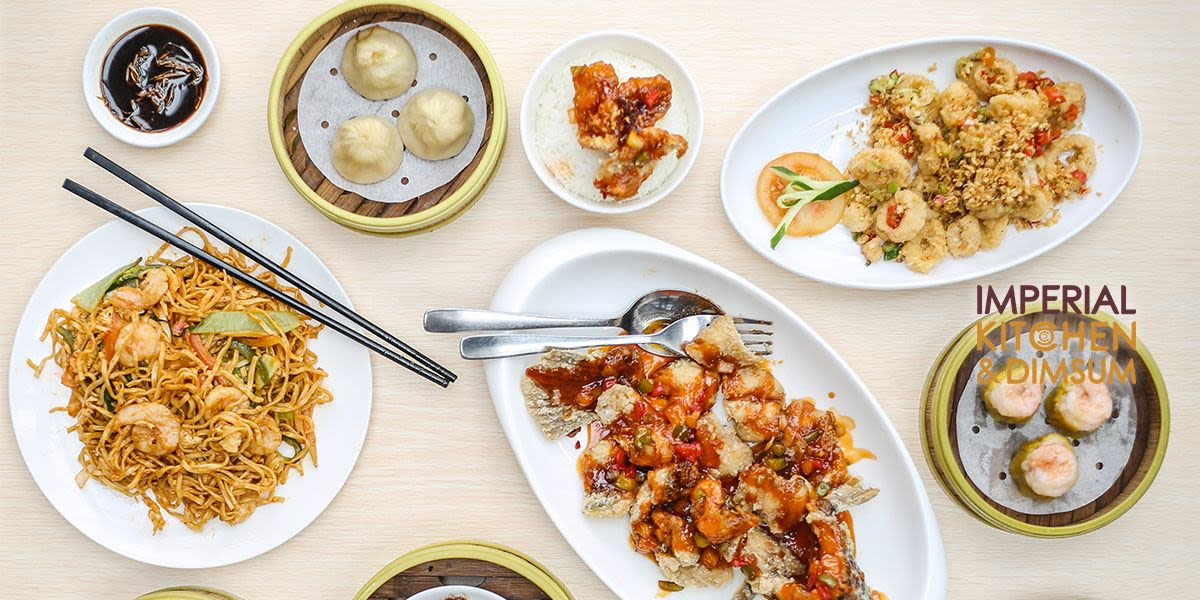 Voucher Imperial Kitchen & Dimsum Rp 200.000