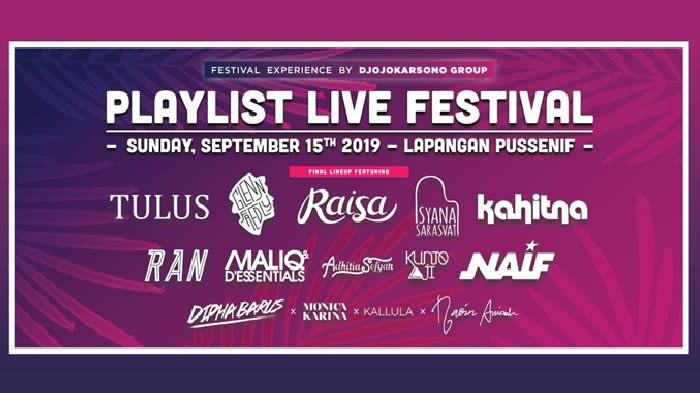 Playlist Live Festival 2019 - Background
