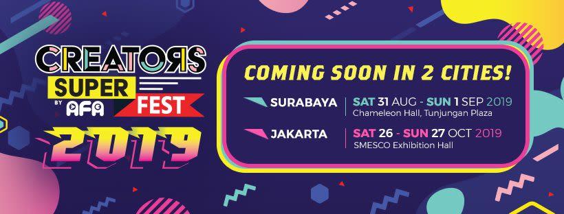 Creator Super Fest 2019 - Background