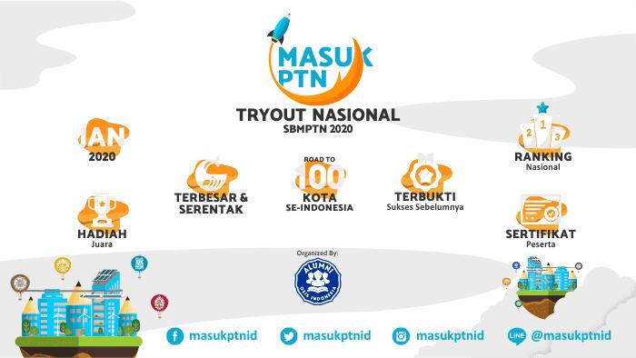 MasukPTNid - Tryout Nasional SBMPTN 2020 Terbesar - Background