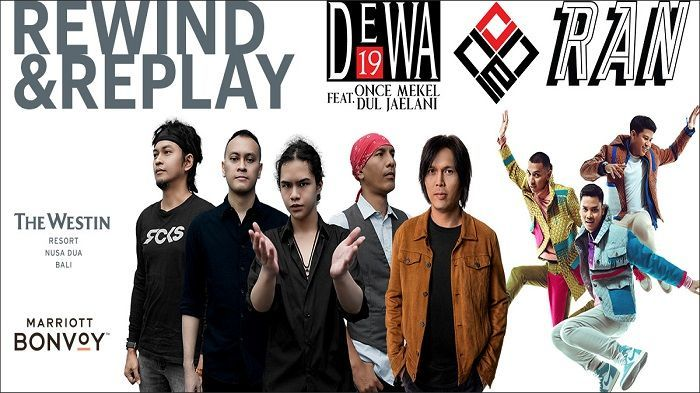 REWIND  REPLAY DEWA 19 FEAT ONCE - Background