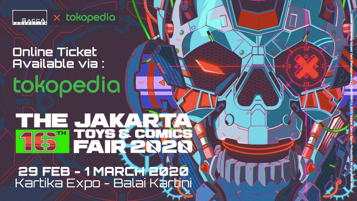 Jakarta Toys and Comics Fair 2020 - Background