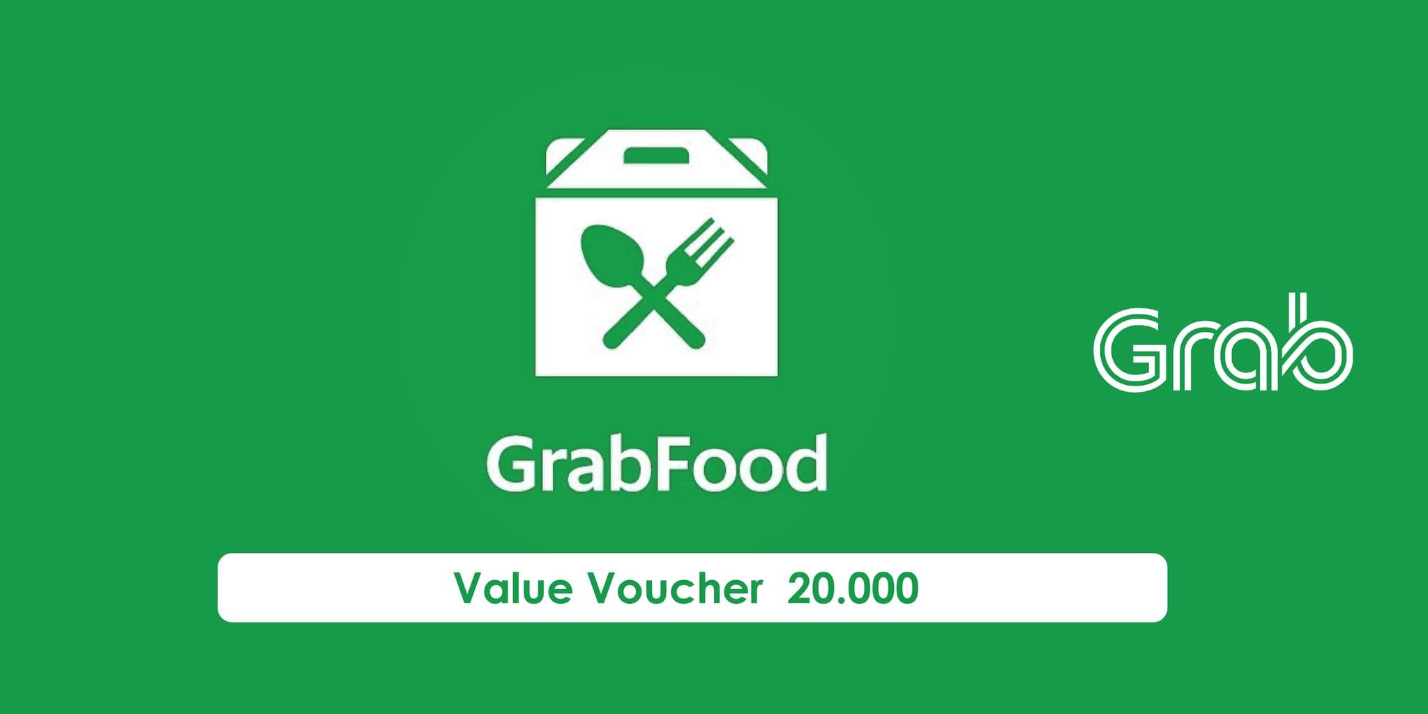 Voucher Grab Food Rp 20.000