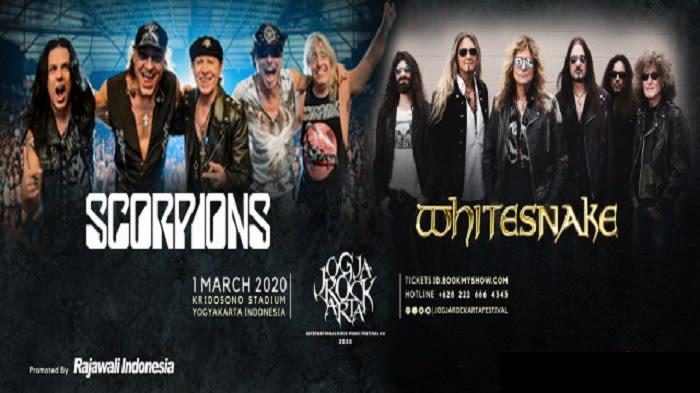 Jogjarockarta International Rock Music Festival 2020 - Background