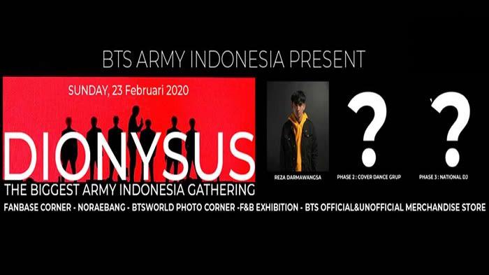 BTS WORLD INDONESIA GATHERING : DIONYSUS 2020 - Background