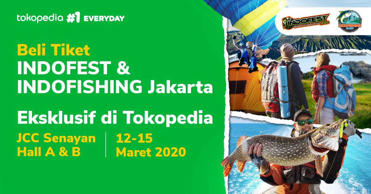 INDOFEST & IndoFishing 2020 Jakarta - Background