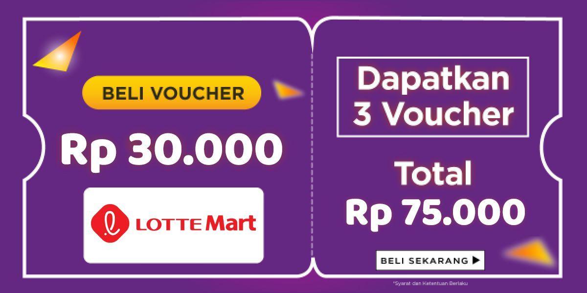 Paket Kupon Diskon LotteMart Indonesia