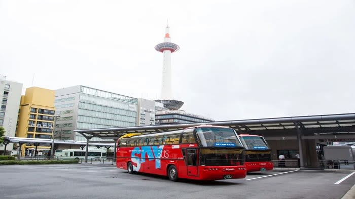 Kyoto SKYBUS Hop-On Hop-Off Sightseeing Bus Pass Open-Top 1 or 2 Days - Background