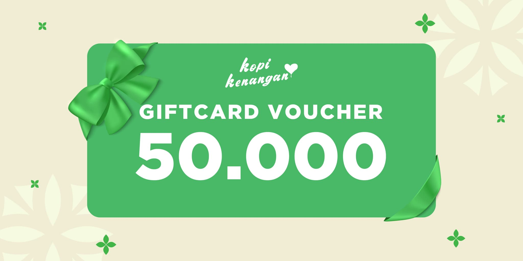 Kopi Kenangan Voucher Rp50.000