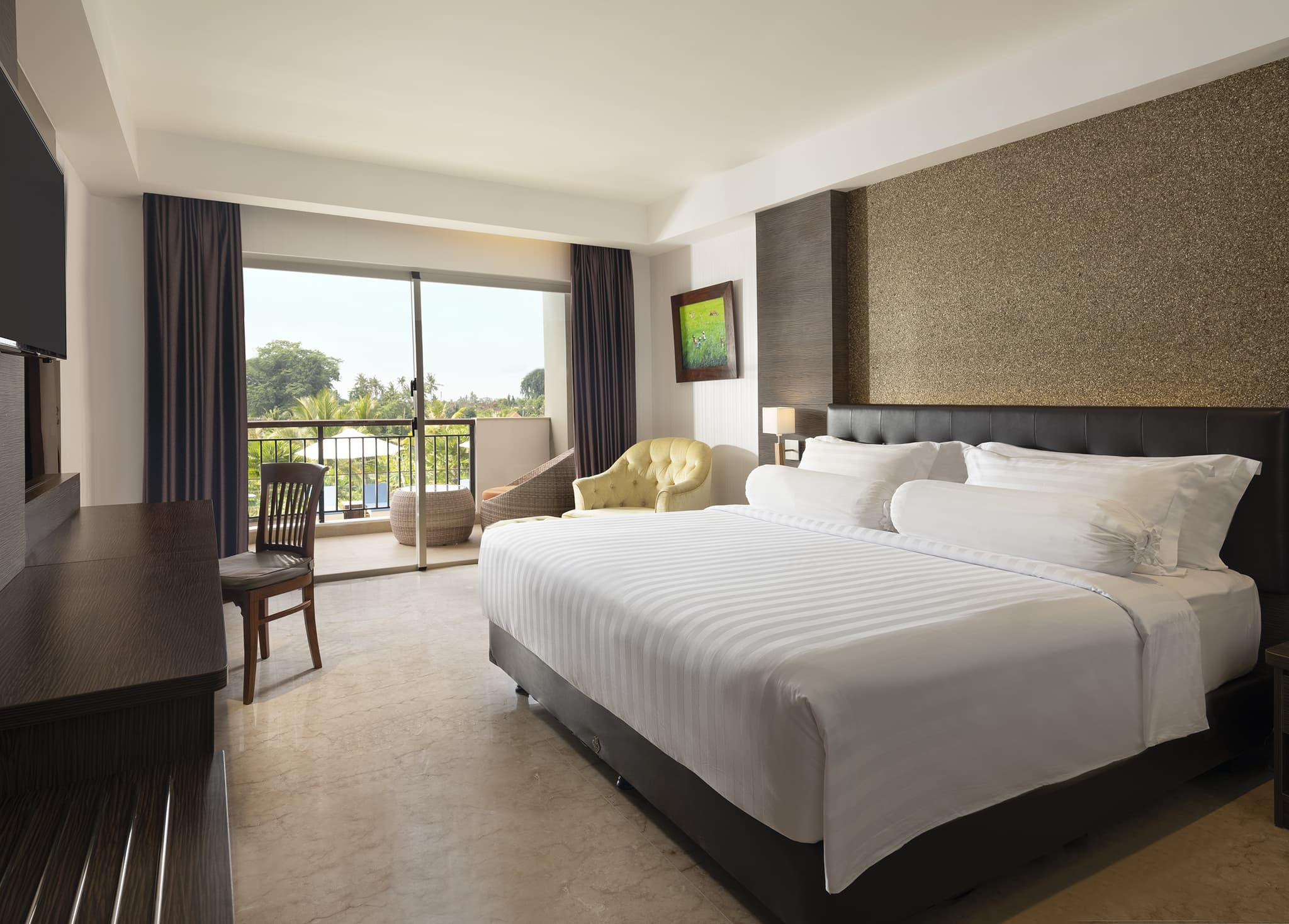 Sthala Ubud Bali Room Voucher - Di Indonesia Aja Voucher at Deluxe Room with Balcony at Sthala, a Tribute Portfolio Hotel, Ubud Bali by Marriott International