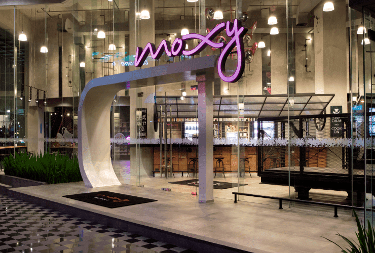 MOXY Bandung - Co working space usage