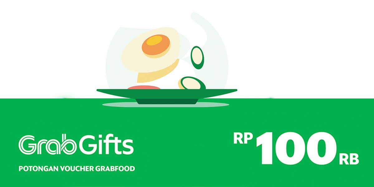 Voucher GrabFood Rp 100.000