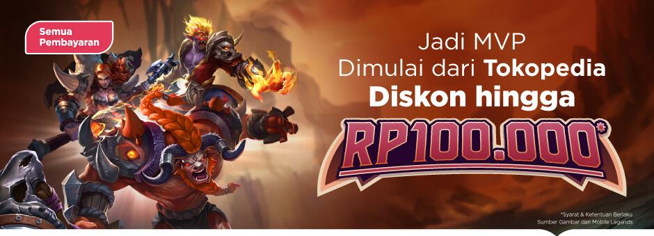 Ayo Jadi MVP di Awal Tahun, Hemat hingga Rp100.000!