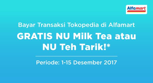 Promo JSM Alfamart GRATIS NU Milk Tea/NU Teh Tarik