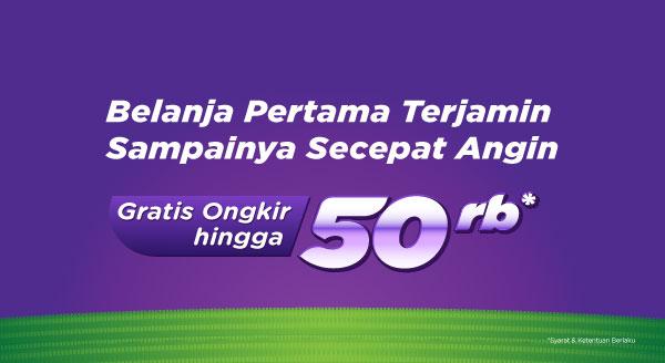 Mulai Belanja di Marketplace & Official Store Dapatkan Free Shipping hingga Rp50.000
