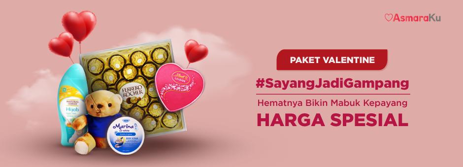 Rayakan Cinta dengan Paket Spesial Valentine