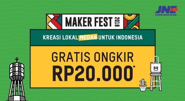 Saatnya Kreasi Lokal Medan Unjuk Gigi, Nikmati GRATIS ONGKIR RP20.000!
