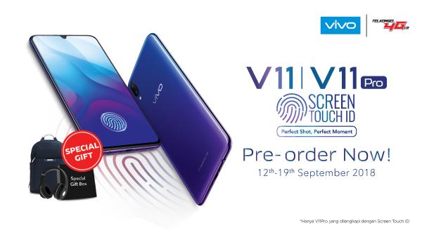 Makin Eksis dengan Vivo V11 dan V11 Pro! Berhadiah Menarik