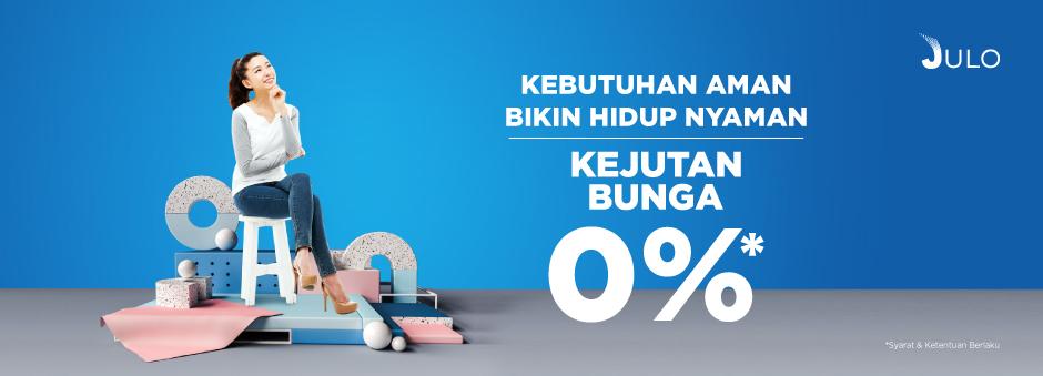 Dapatkan Pinjaman dengan Bunga 0% Hanya di Tokopedia