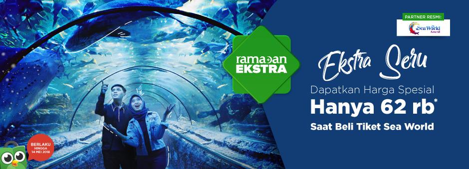 Promo Seaworld Ancol Dapatkan Harga Spesial Tokopedia