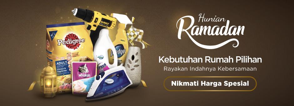 Harga Spesial untuk Kebutuhan Rumah Andalan Jelang Kebersamaan Ramadan!
