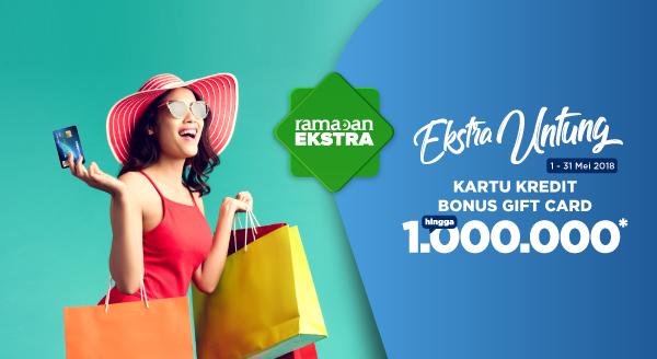 Apply Kartu Kredit di Bank Berikut dan Dapatkan Bonus Gift Card Tokopedia Hingga Rp1.000.000