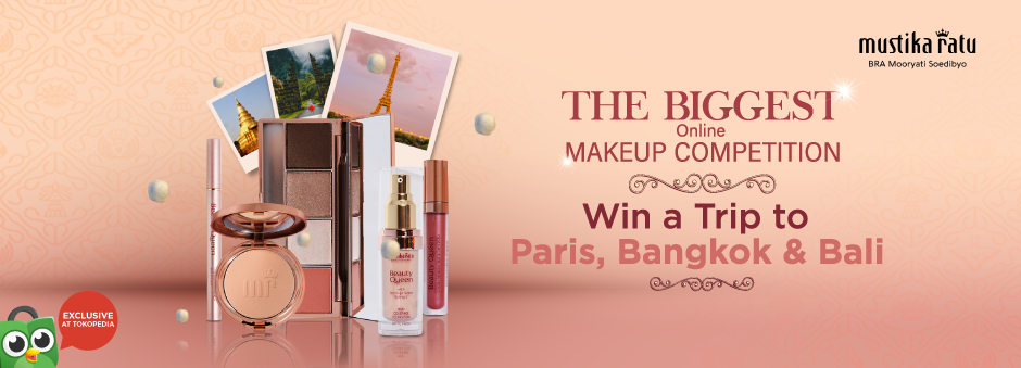 The Biggest Online Makeup Competition: Win a Trip to Paris!
