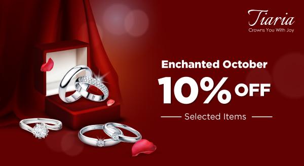 Diskon 10% dari Tiaria, Kilau Perhiasan untuk Segala Acara