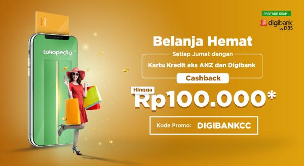 Cashback Spesial Jumat untuk Pemilik Kartu Kredit eks-ANZ & Digibank