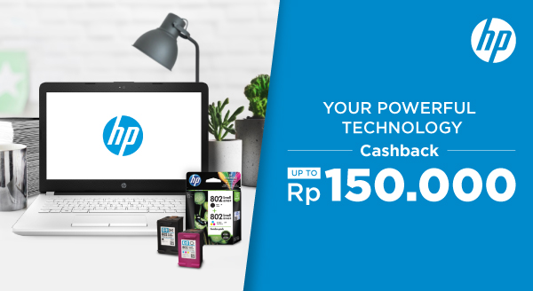Cashback Laptop, Printer, dan Ink Cartridge HP