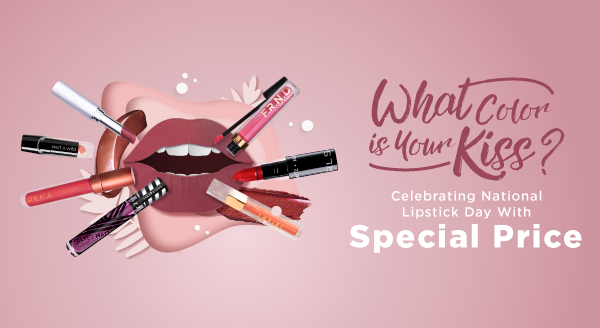 Make Sure Your Lips Are Ready, Enjoy Special Price for Pure Color Envy!