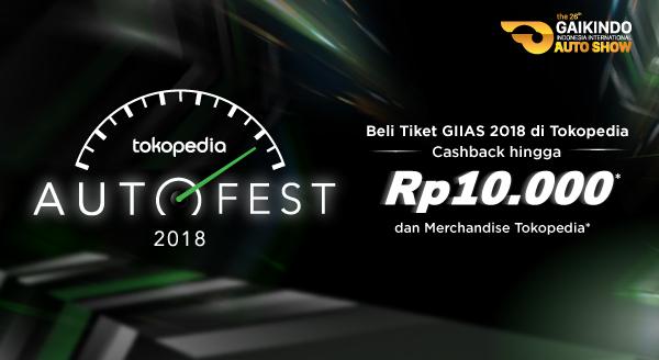 Cashback Spesial Tiket GIIAS 2018 untuk Penggemar Automotif!