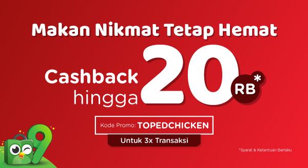 Nikmati Ayam Renyah dengan Cashback s.d 20rb!