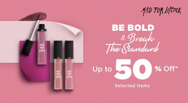Lengkapi Indie Spirit-mu dengan Mad for Lipstick, Berani Tampil Beda!