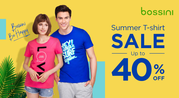 Style Yourself Up to 40% OFF & Make It a Summer to Remember!