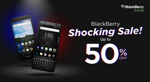 Hanya 2 hari! BlackBerry Aurora Diskon 40%, BlackBerry KeyOne Diskon 50%