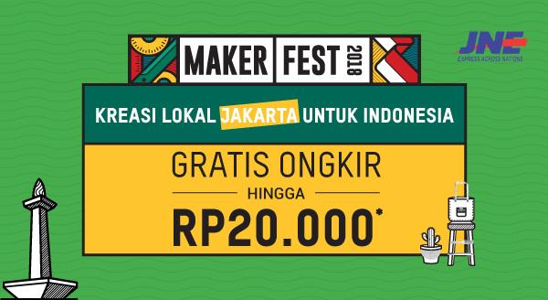 Nikmati Produk Berkualitas Kreasi Jakarta, Dapatkan GRATIS ONGKIR RP20.000!