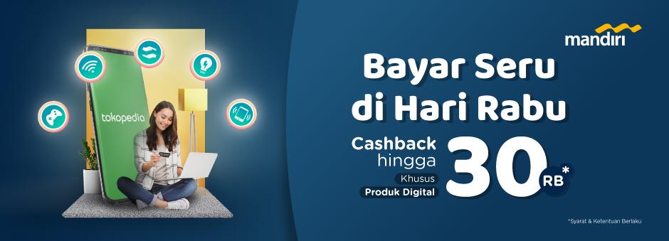 Bayar di Hari Rabu dengan Kartu Kredit Mandiri, Dapat Cashback!