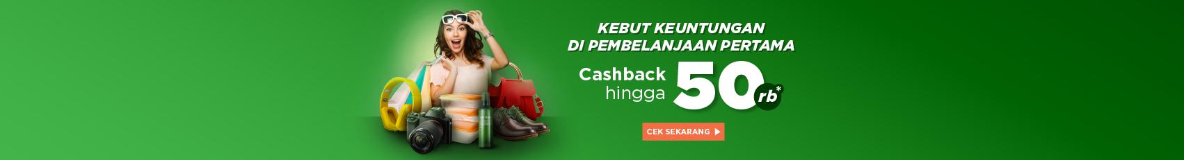 Mulai Belanja di Marketplace & Official Store Dapatkan Cashback hingga Rp50.000