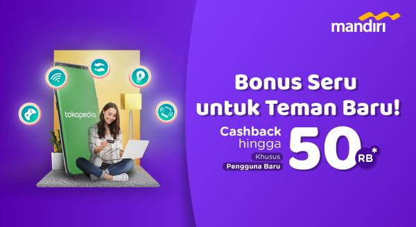 Coba Bayar Produk Digital dengan Kartu Kredit Mandiri, Cashback hingga Rp50.000
