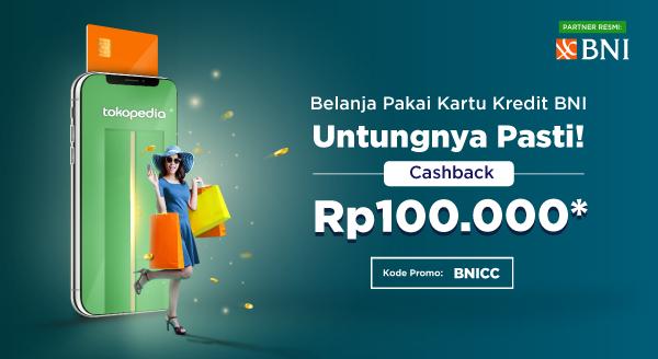 Cashback Pasti untuk Pengguna Kartu Kredit BNI