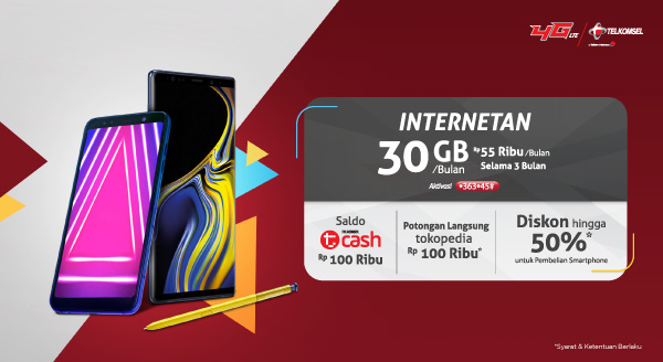 KEBUT Telkomsel di Tokopedia, Koneksi Murah Bagi Seluruh Rakyat Indonesia!