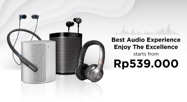 Dengar yang Kamu Mau, Miliki Perangkat Audio Idamanmu!