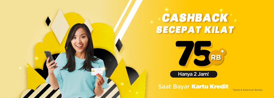 Cuma 2 Jam! Cashback Bayar Tagihan Kartu Kredit
