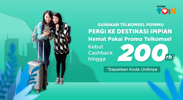 Bebas Pilih Transportasinya, Hemat Pakai Promo Telkomsel